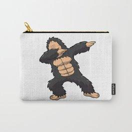 Dabbing Gorilla Shirt Ape Monkey Big Foot Dab Kids Carry-All Pouch