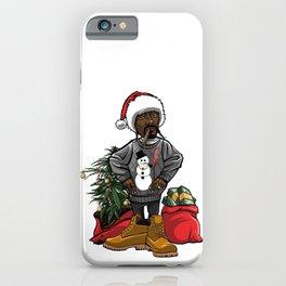 Festive Snoop iPhone Case