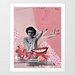 Luxure Art Print