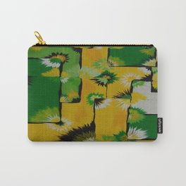 Lemon Lime Blossom Query Carry-All Pouch