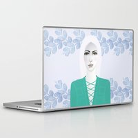 army Laptop & iPad Skins featuring Army Girl by EISENHART