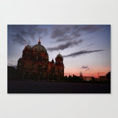 Berlin, Museum Island Canvas Print