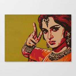 Bollywood Style Canvas Print