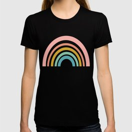 Simple Happy Rainbow Art T-shirt