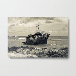 The Iron Boat Metal Print