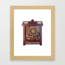 St Badger Reliquary  Framed Art Print