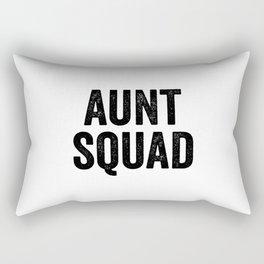 Aunt squad Rectangular Pillow