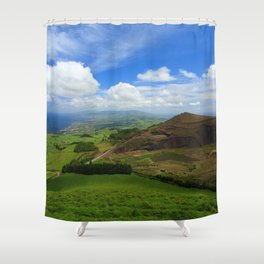 Sao Miguel, Azores Shower Curtain