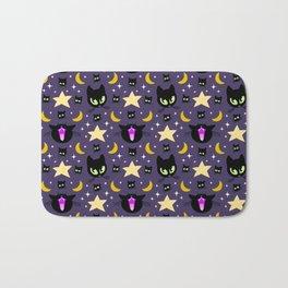 Moonlight Cats Bath Mat