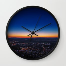 Sunset_29 Wall Clock