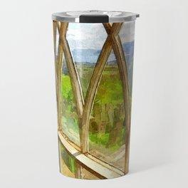 Church Window Travel Mug