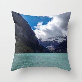 Lake Louise Throw Pillow
