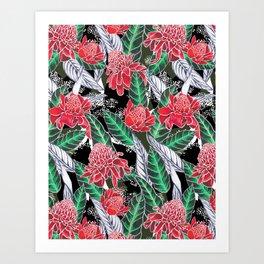 Punch Print Art Print