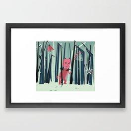 Diablito Framed Art Print