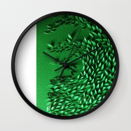 Scent of wind Wall Clock