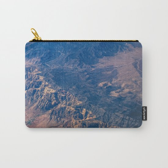Climb The Mountains Carry-All Pouch