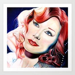 Tori Amos Painting Art Print