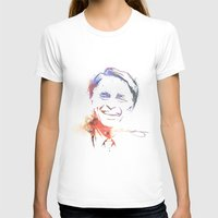 carl sagan T-shirts featuring Splatter Sagan by KellyBK