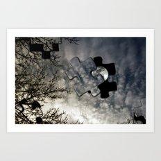 Sky Surrealism. Art Print