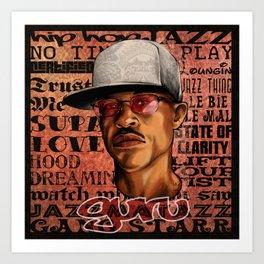 Guru Art Print