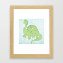 Dinosaur Series Print Framed Art Print