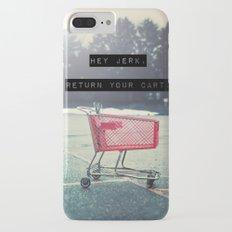 Grocery Cart Rage  iPhone 7 Plus Slim Case
