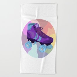 Roller Derby Girls Beach Towel