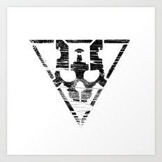 Warsheh Skull Art Print