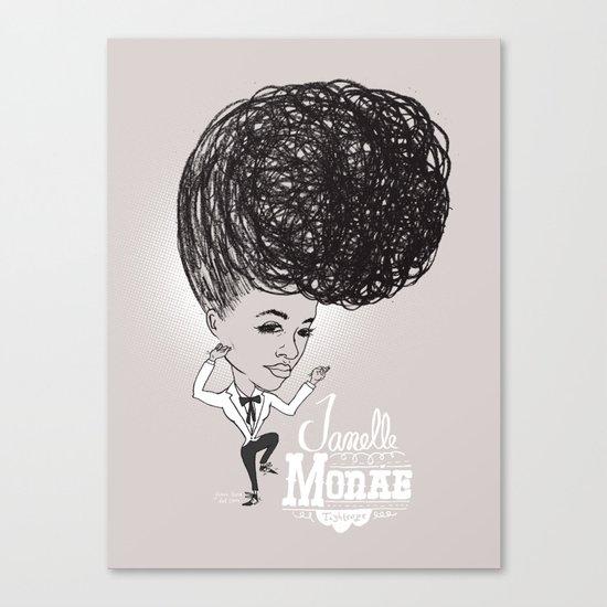 Janelle Monáe  'Tightrope' Canvas Print