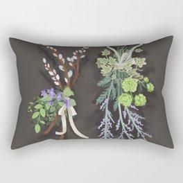 bouquets Rectangular Pillow