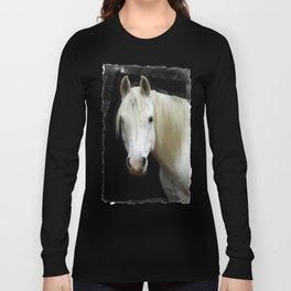 The white Arabian  Long Sleeve T-shirt