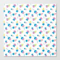 jem Canvas Prints featuring Jem 2 by Kukka