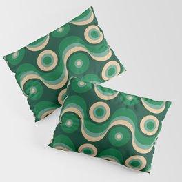 70s Optical Wallpaper Pillow Sham