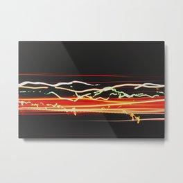 Interstate Chaos. Metal Print