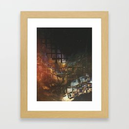 [02.25.17] Glimpse thru the Cracks of Reality Framed Art Print