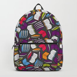 So Many Colorful Books... Backpack