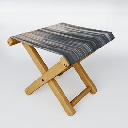 Weathered wood wall Folding Stool