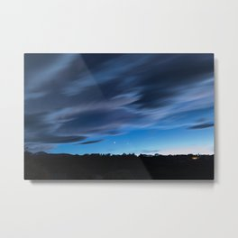 Clouds like watercolor Metal Print