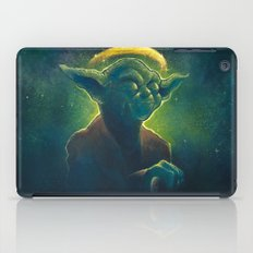 The Contemplation of Saint Yoda iPad Case