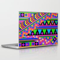 neon Laptop & iPad Skins featuring NEON by Bianca Green