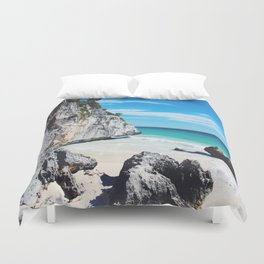 Tulum Mexico Duvet Cover