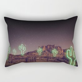 UFO forest Rectangular Pillow