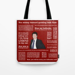 The Thick of It - Jamie MacDonald Tote Bag
