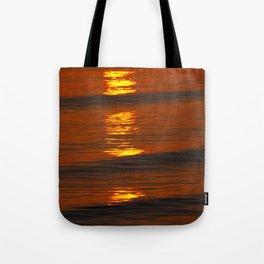 Coastal Abstract Tote Bag