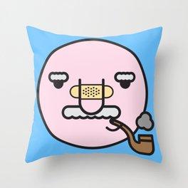 smokey joe Throw Pillow