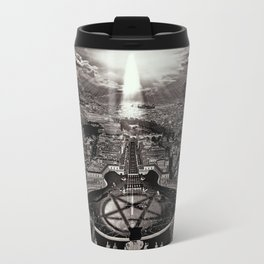 Vatican Rocking View Black and White Travel Mug