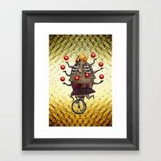 Equilibrist Framed Art Print