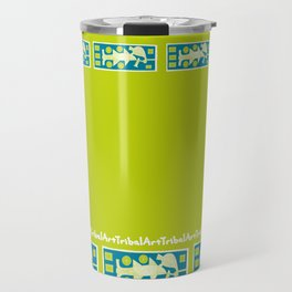 TribalArt Travel Mug