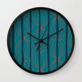 BLOCK STRIPES & GRAPIC I Wall Clock
