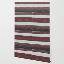 Maroon Stripe Wallpaper